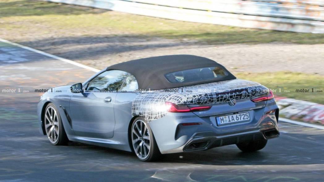 全新BMW 8 Series Convertible非常有機會在11月底舉辦的洛...