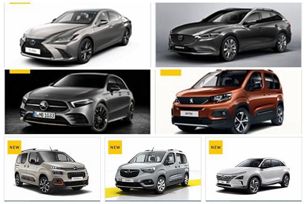 歐盟新車安全評鑑協會公布最新一波測試成績,當中多款新車已經在台灣市場開賣。 圖/...