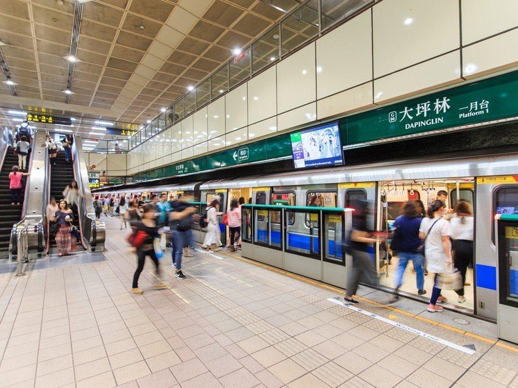 欣聯心接軌大坪林雙捷運站,新店線環狀線交匯。欣聯建設/提供
