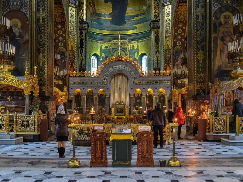 俄國支持的勢力正打擊烏克蘭的教會。(Photo by Jorge Frangan...