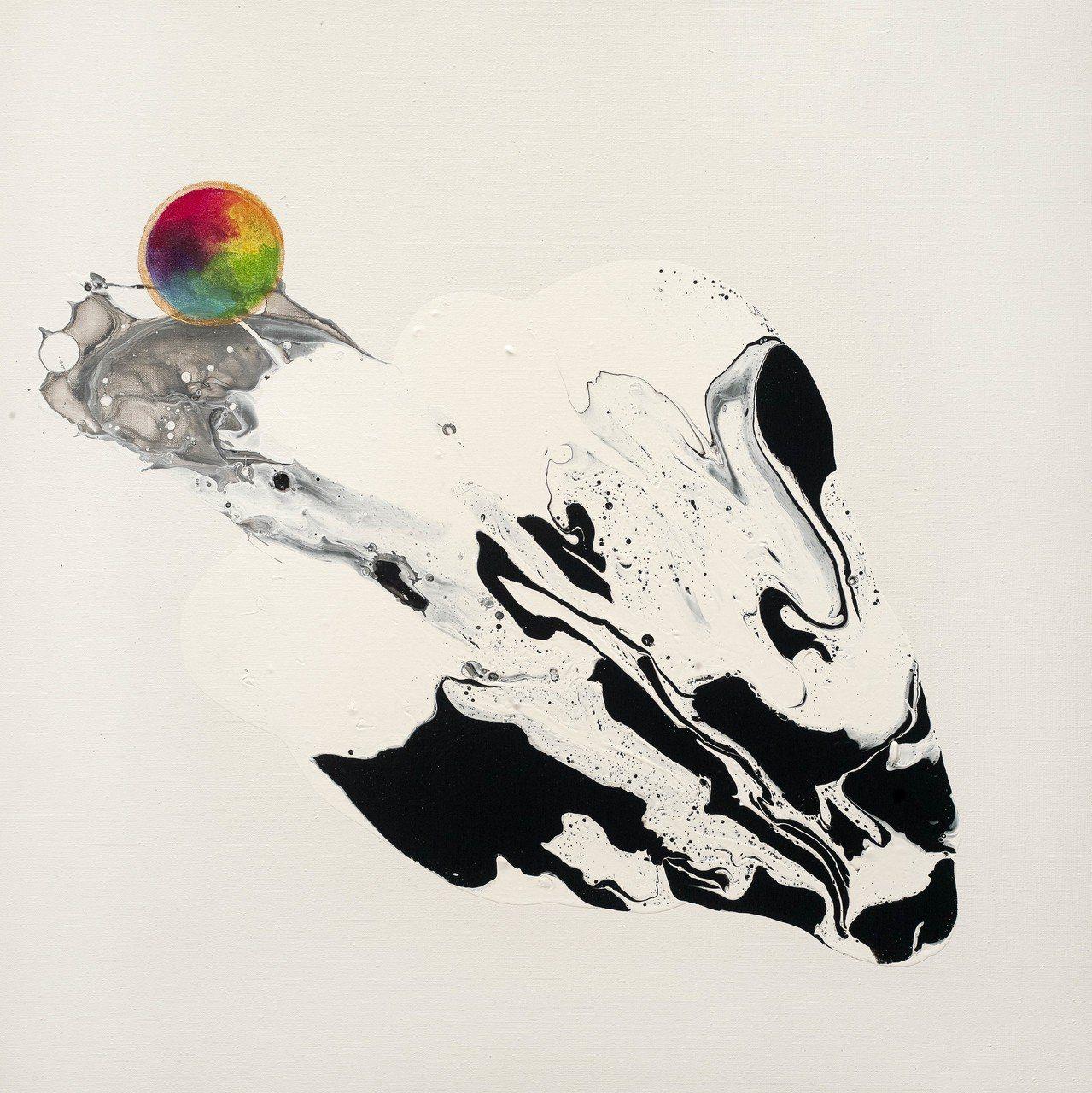 瑪馨玲月四人合作作品《畫龍點睛/一帆風順》。 台灣輕鬆藝術博覽會/提供