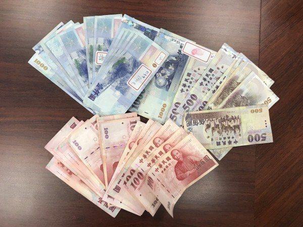 檢警查扣現金2萬元。圖/彰化縣警局提供