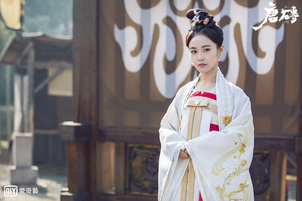 張佳寧在「唐磚」中詮釋大唐公主。圖/愛奇藝台灣站提供