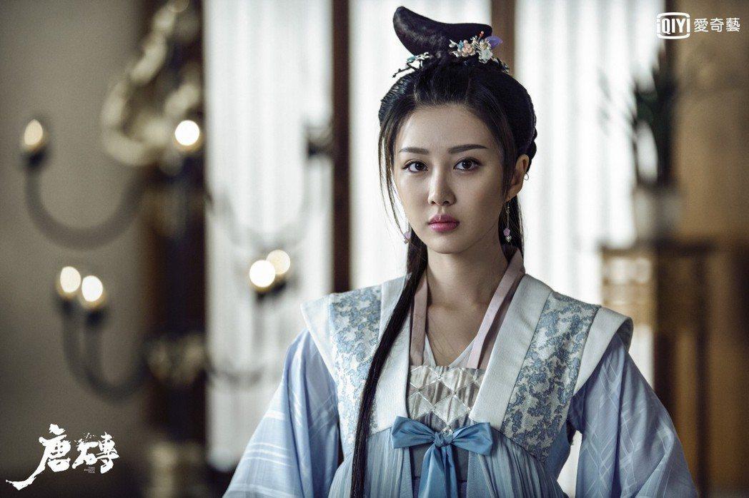 「如懿傳」中的「慶嬪」于子洋參演「唐磚」。圖/愛奇藝台灣站提供
