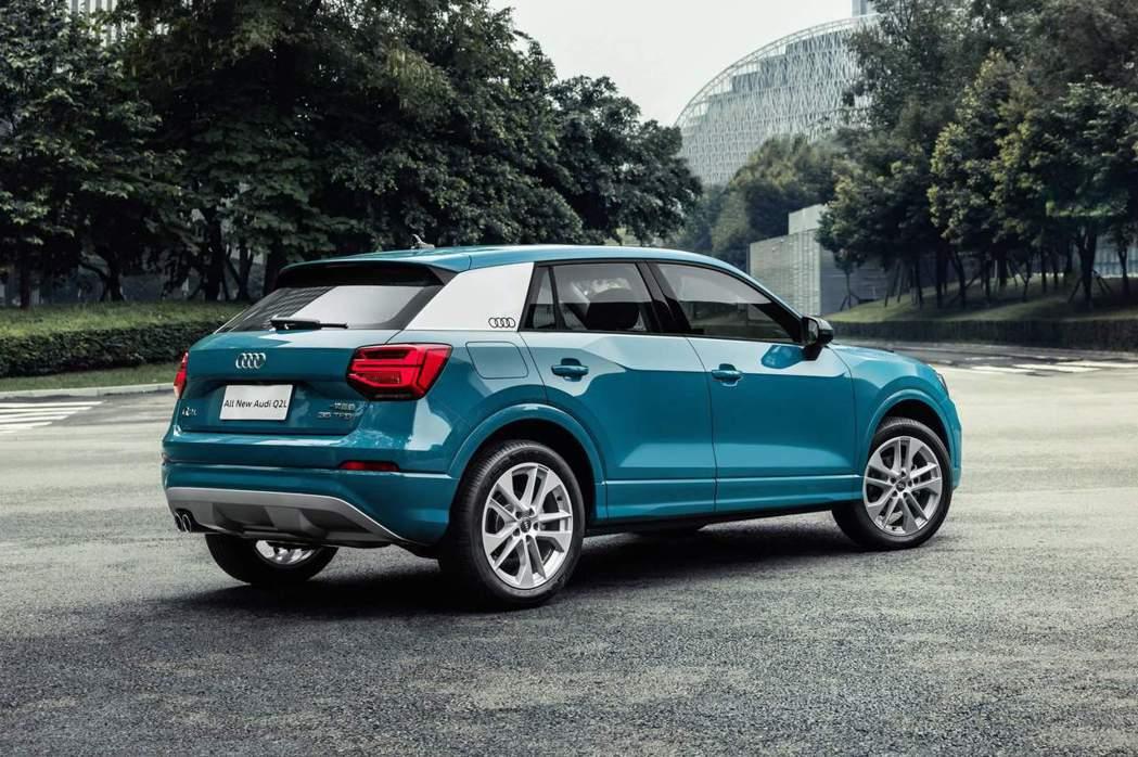 Audi Q2 L已在中國正式上市。 Audi提供