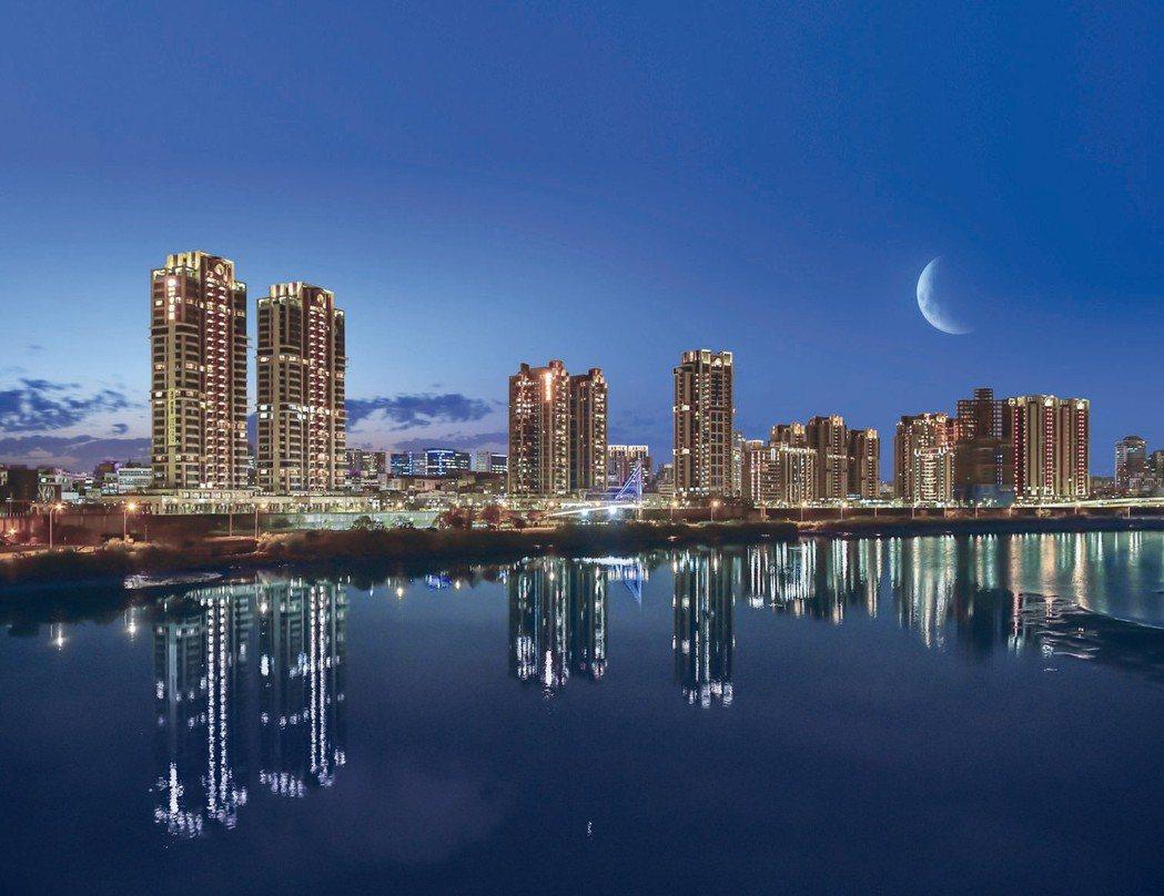 河岸景觀宅在房地產市場一直是房價保證,擁有重劃區的大街廓尺度,中和遠雄左岸在環狀...