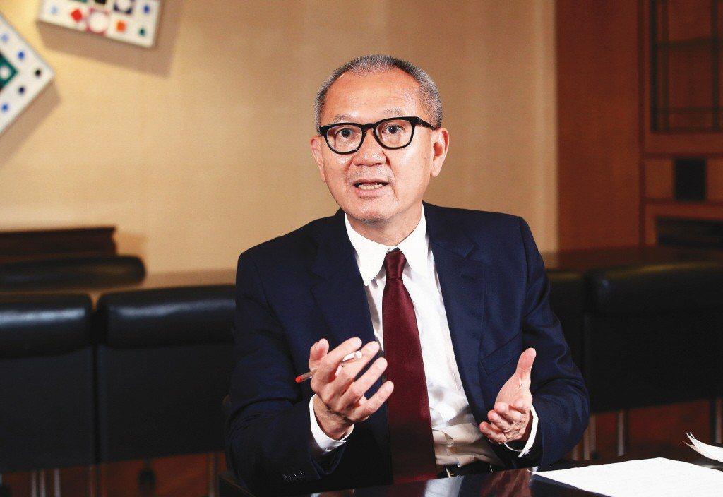 圖為國巨董事長陳泰銘。聯合報系資料照