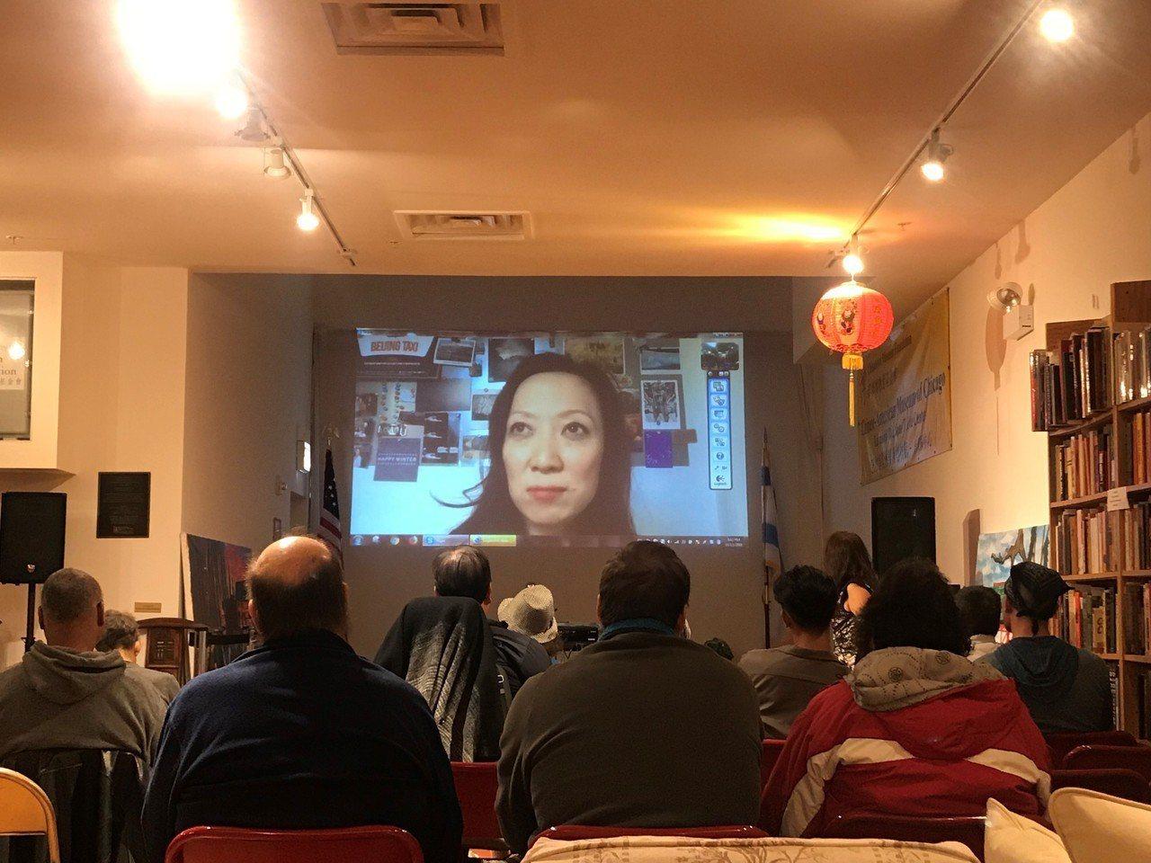 「尋岸」芝加哥播映,詳實記錄中國留學生衝擊及調適。 記者黃惠玲攝影