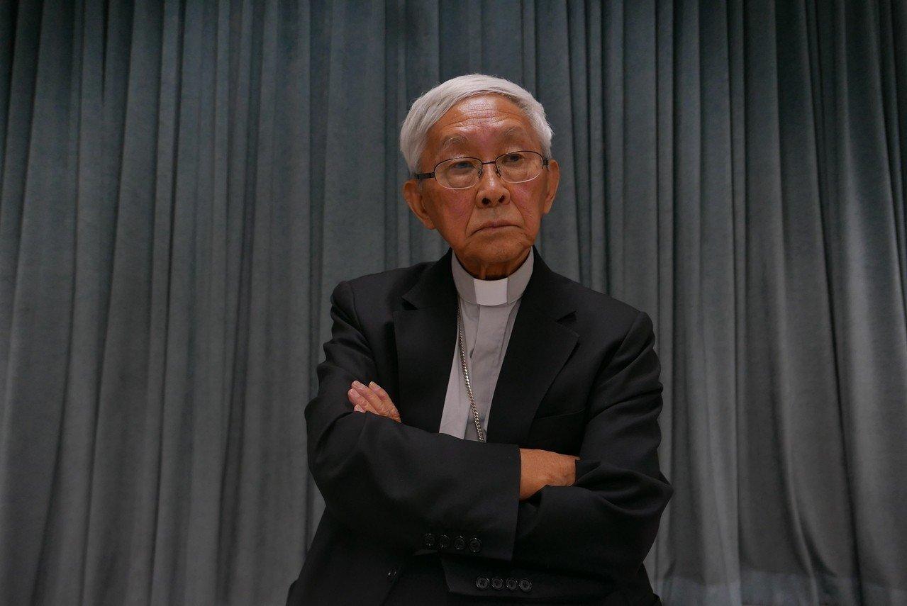 香港前主教陳日君樞機主教。 聯合報系資料照片