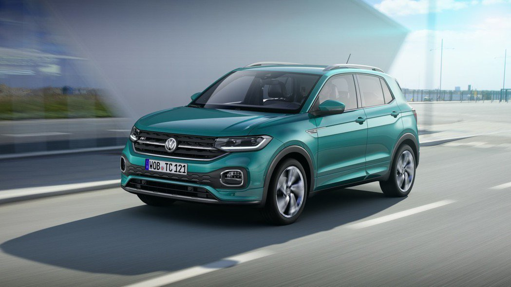 全新Volkswagen T-Cross搭載集團MQB A0模組化底盤,車長超過...