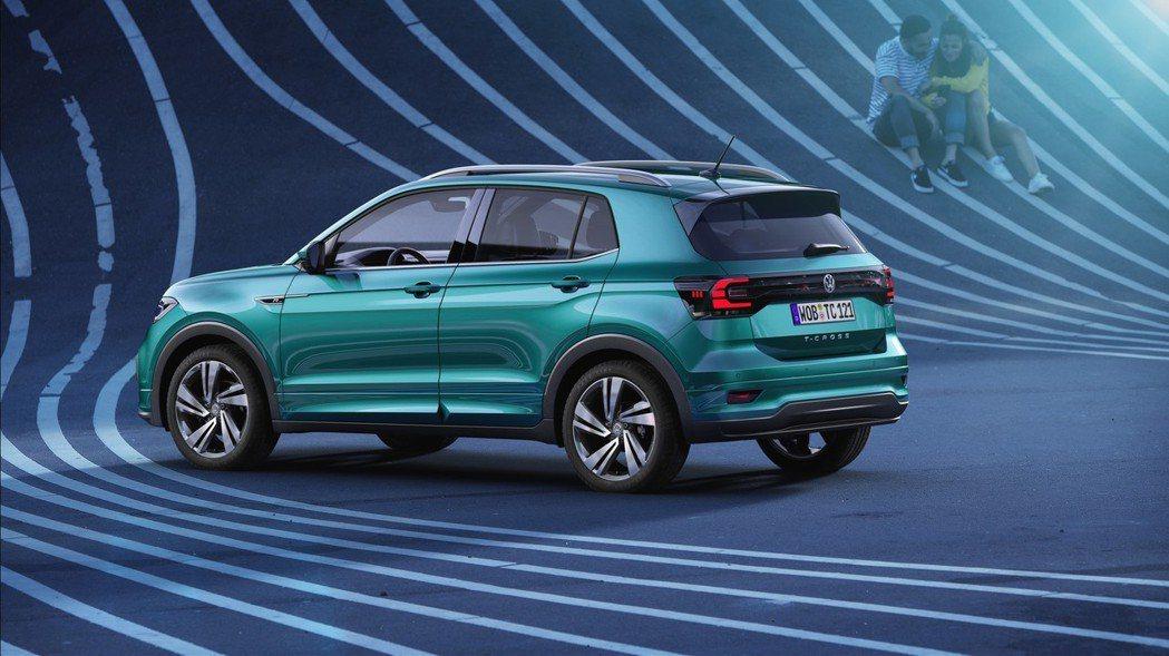 全新Volkswagen T-Cross。 摘自Volkswagen