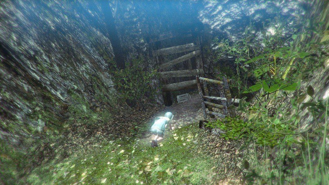 在森林的礦坑深處遇到一位正在試圖撿拾鳥籠的女孩,她究竟想找什麼呢?