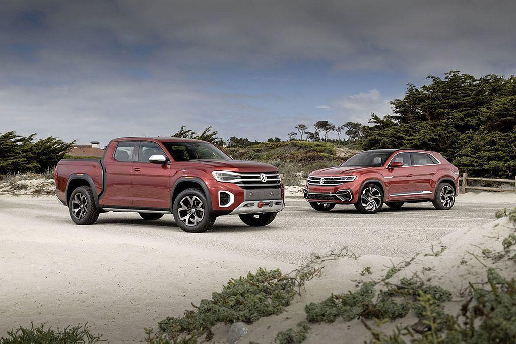 福斯汽車擴張休旅級距仍未停歇,今年還陸續推出兩款概念車,分別是大型斜背休旅及皮卡...