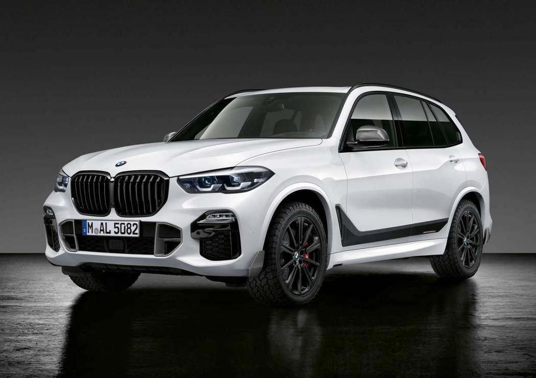 新世代BMW X5搭上專屬M Performance套件後,是不是變得更帥了! ...