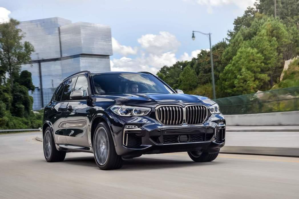 全新第四代BMW X5預計將於今年12月初在台販售。 摘自BMW