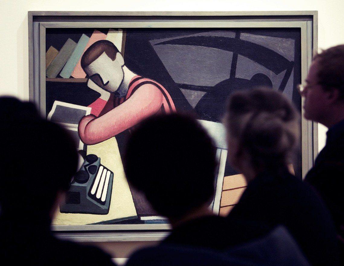 蒙特婁美術館曾經的古巴藝術特展,展出古巴畫家Marcelo Pogolotti的...
