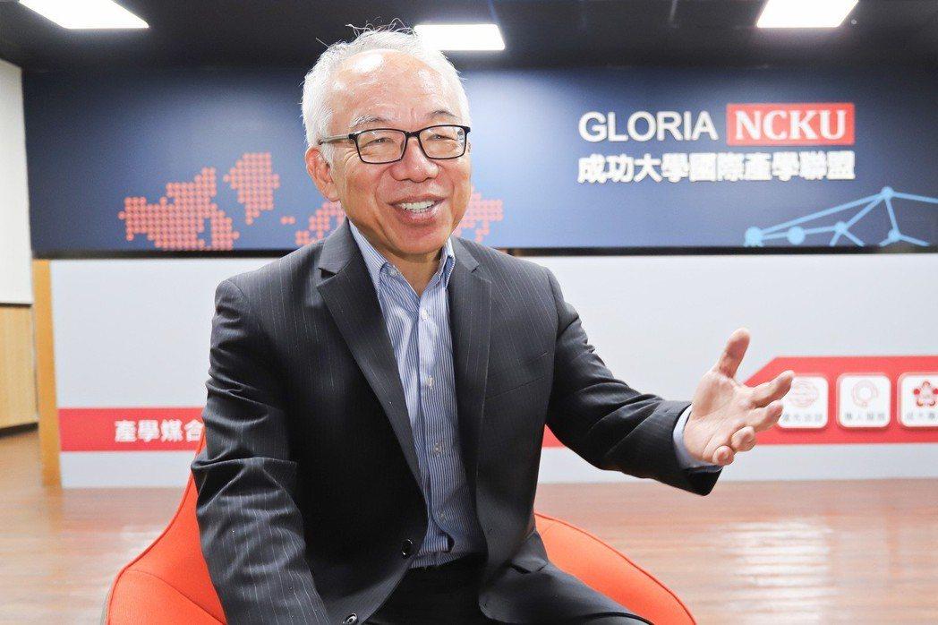 成功大學GLORIA執行長陳勁初。 彭子豪/攝影