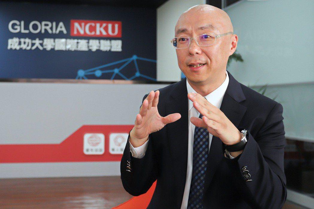 成功大學GLORIA營運長洪偉仁。 彭子豪/攝影