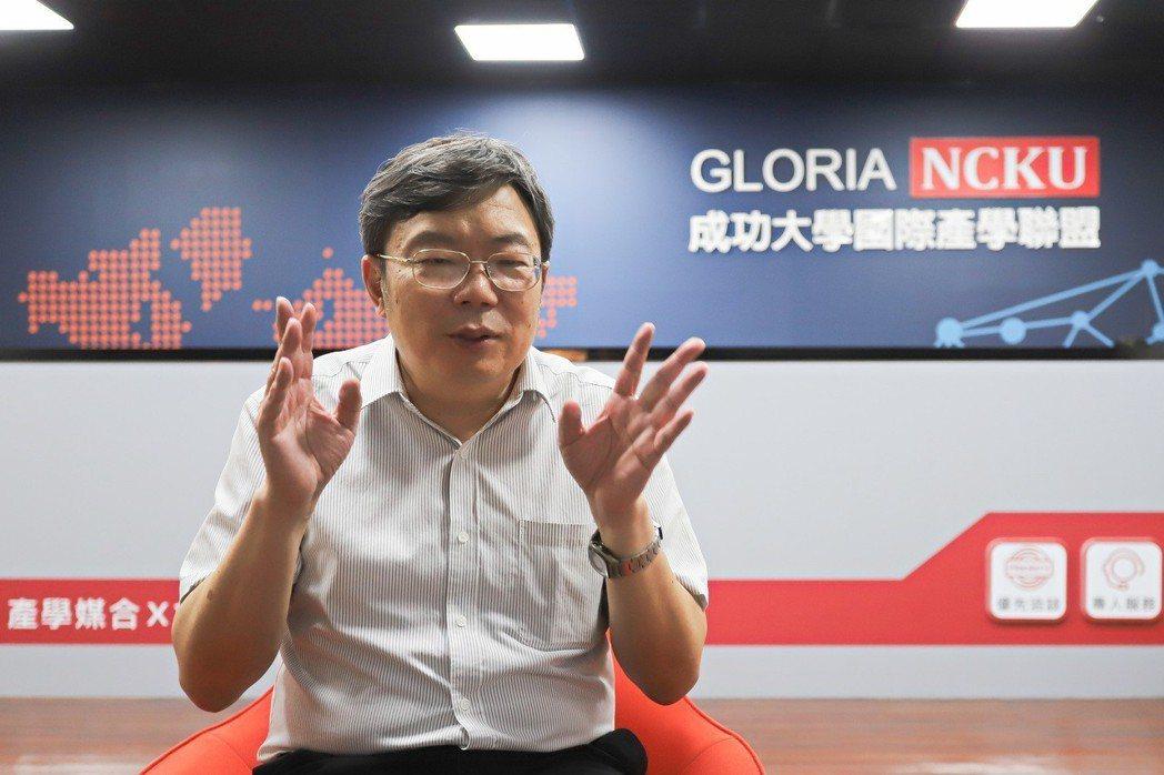 成功大學研究總中心主任張志涵。 彭子豪/攝影