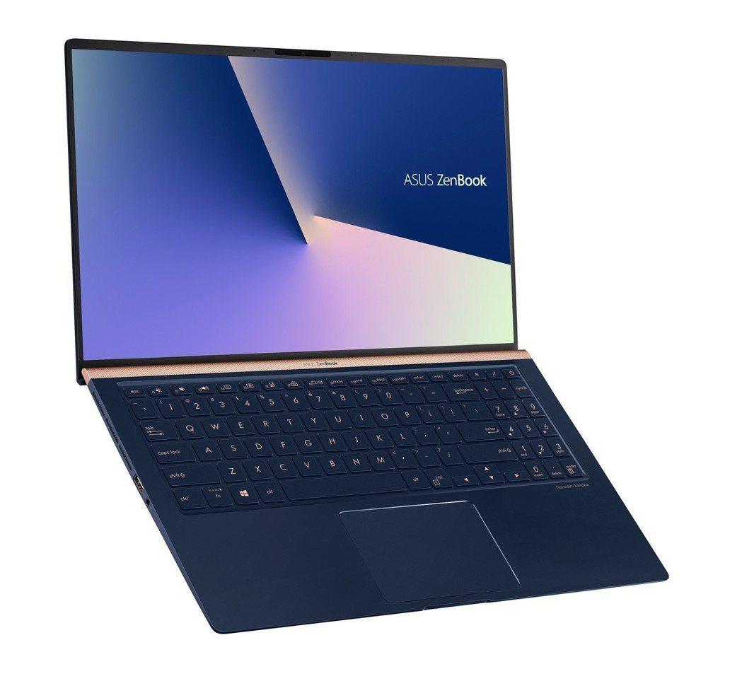 世界最小15吋筆電 「ASUS ZenBook 15」,採用四面NanoEdge...