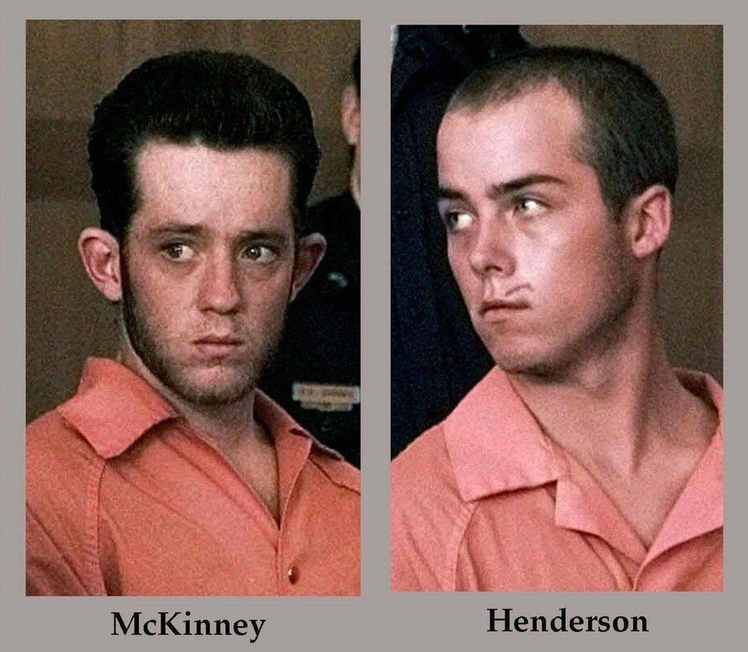 韓德森(右)及麥金尼(左)先後透過認罪協商,遭判兩次無期徒刑。 圖/美聯社