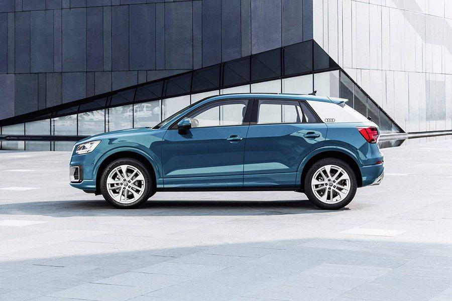 Audi Q2 L。 Audi提供