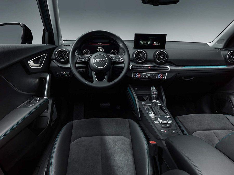 Audi Q2 L內裝A。 Audi提供