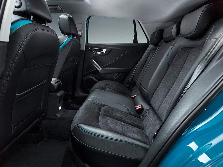 Audi Q2 L後座。 Audi提供