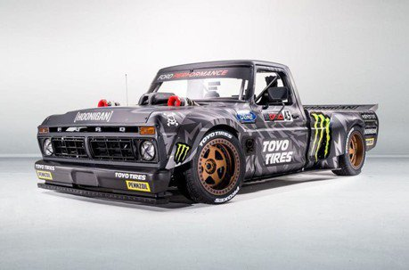 Ken Block的全新Hoonitruck貨卡!直上Ford GT利曼賽車引擎