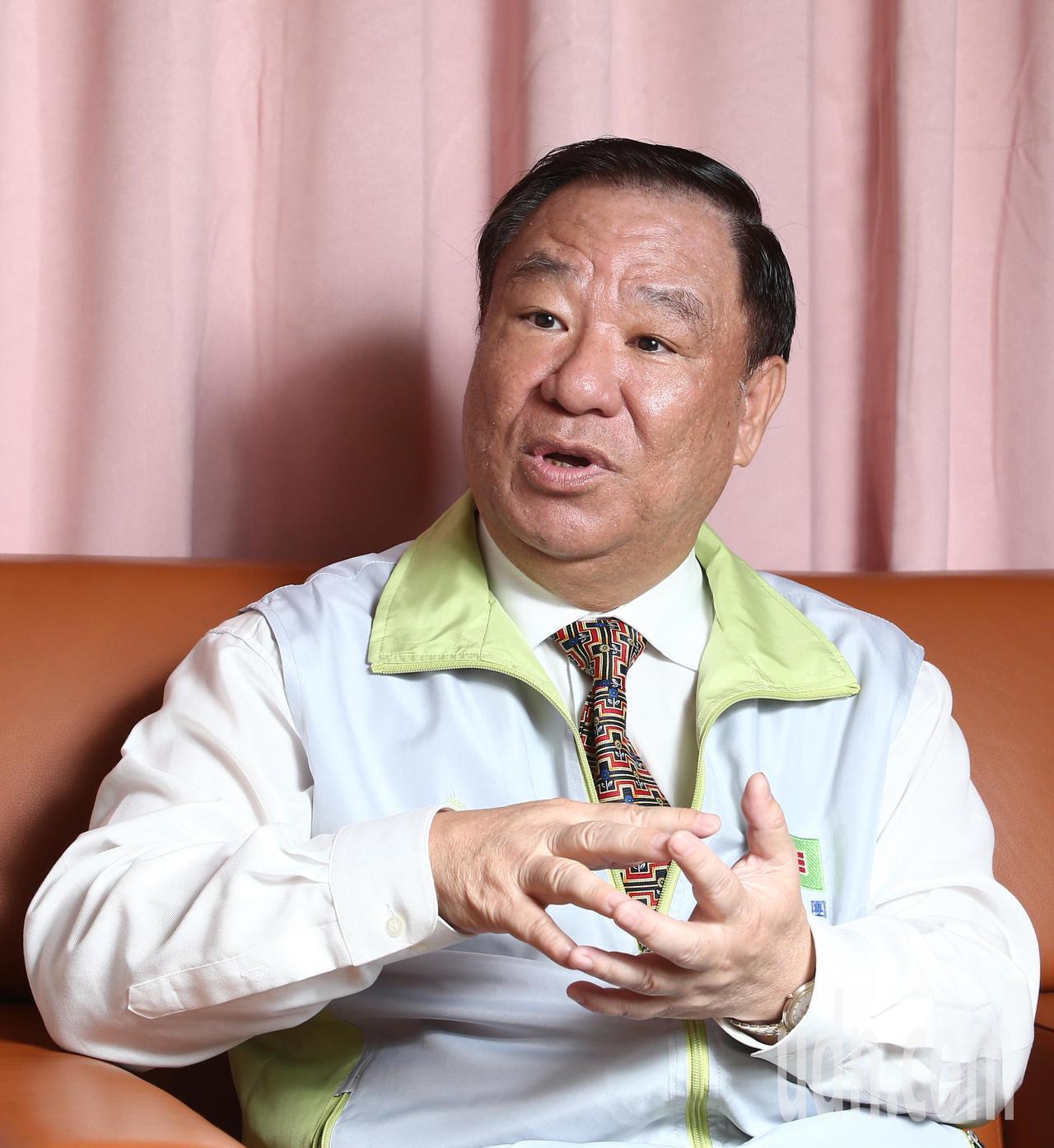 中國青年救國團主任葛永光。記者蘇健忠/攝影
