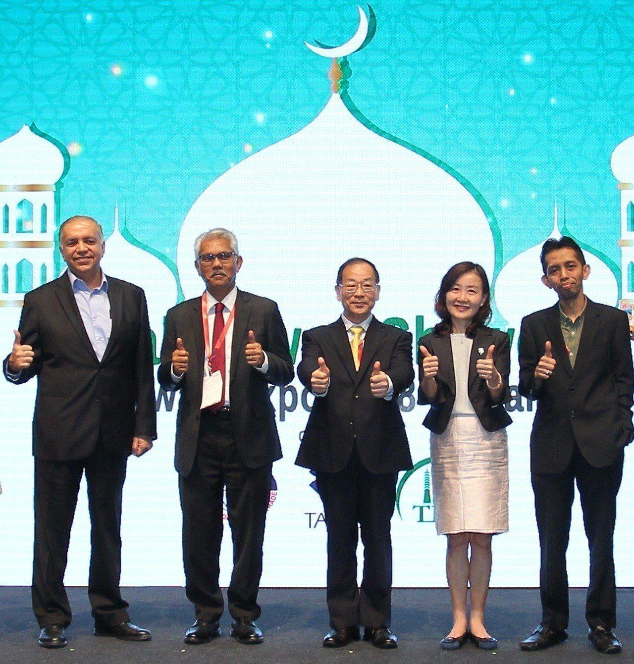 MAYDIN總執行長Datuk Wira、伊斯蘭旅遊中心總監Mr. Zulkif...