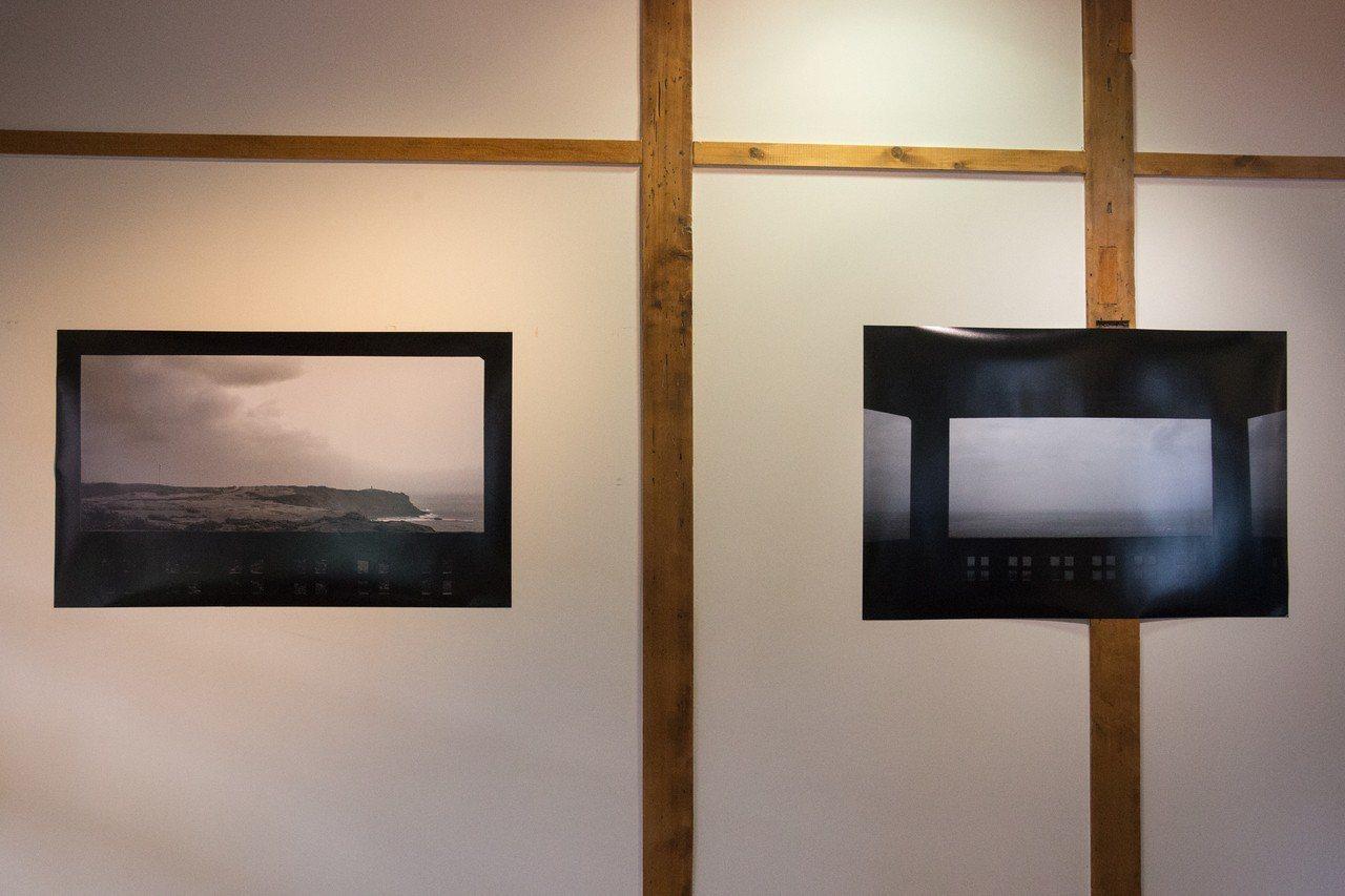 日本攝影家井口康弘創作多幅從窗口望向大海的攝影作品,意指從窗口望去海的另端,「是...