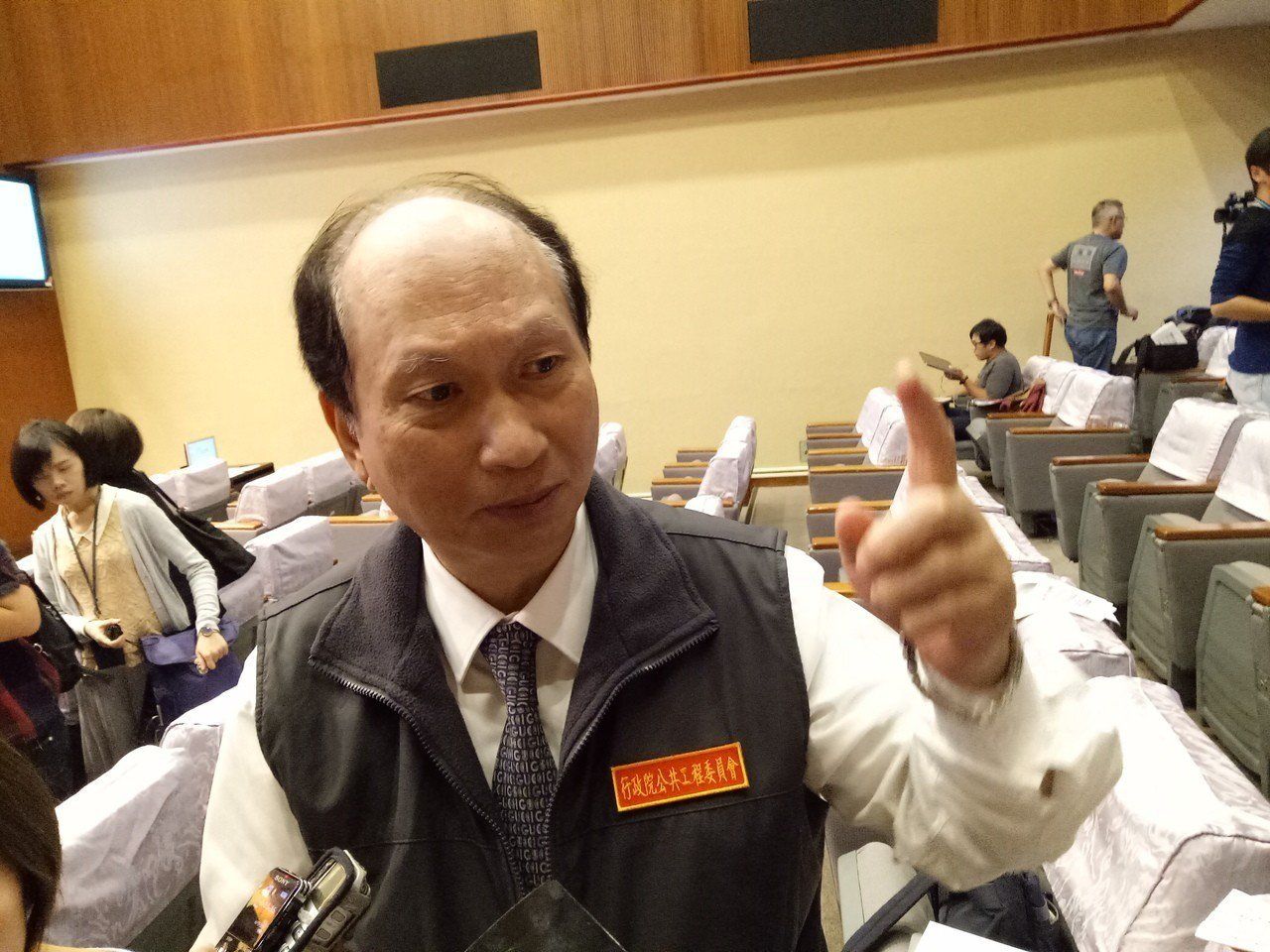 行政院「1021鐵路事故行政調查小組」召集人吳澤成。聯合報資料照/記者林河名攝影