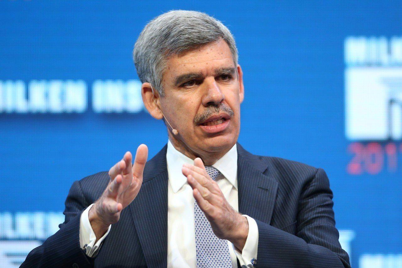 安聯首席經濟顧問伊爾艾朗認為,最近全球股市的賣壓尚不足以讓聯準會(Fed)停下升...