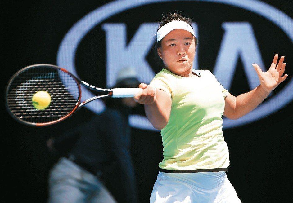 梁恩碩晉級ITF青少年名人賽四強。 本報資料照片