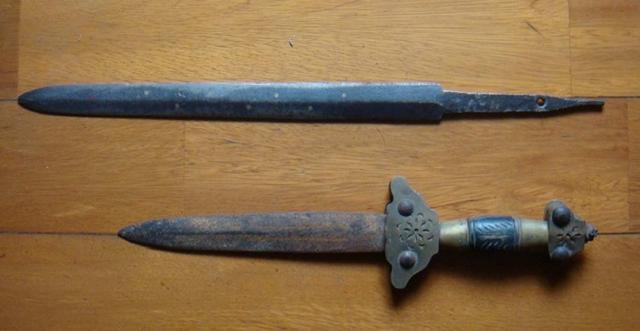 匕首。 圖/摘自新浪網