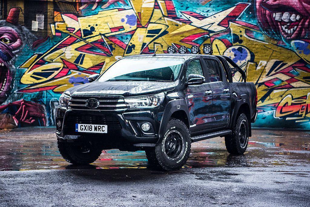 在中型皮卡市場中Toyota Hilux有著相當高的銷售量,更贏過Ford Ra...