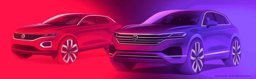 Volkswagen預計要在2025年前推出30款SUV車型。 摘自Volksw...