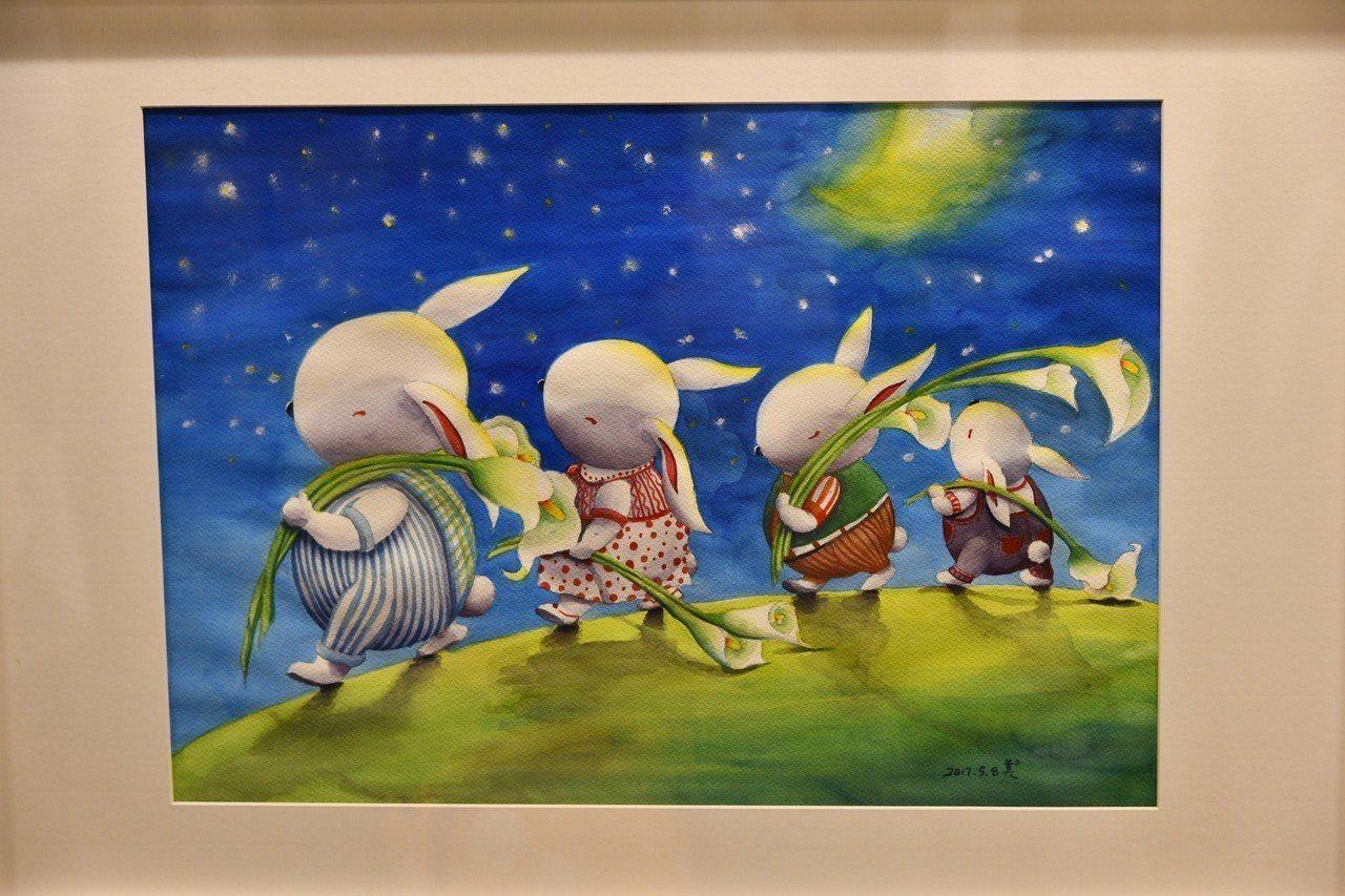 林美美的作品《夜遊》 輕藝博/提供