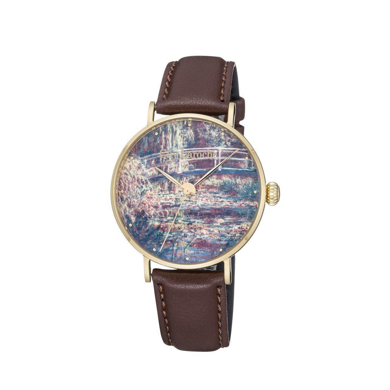 姬龍雪 Art Watch系列莫內「睡蓮-粉紅色之和諧」( Waterlilie...