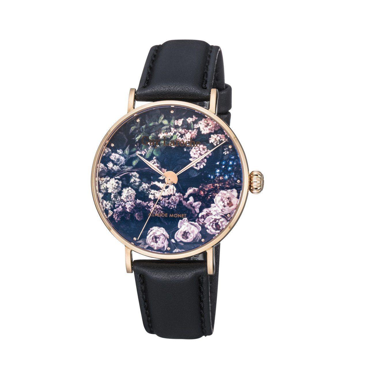 姬龍雪 Art Watch系列莫內「春天的花」( Spring Flower)腕...
