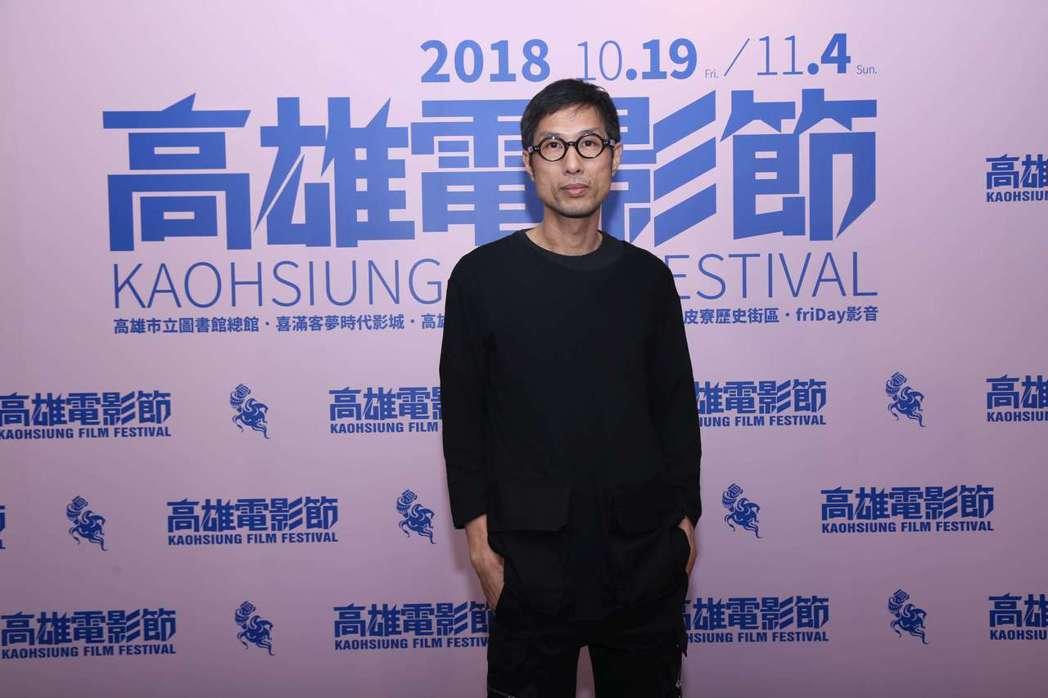 黃榮昇導演以新片「小美」出席高雄電影節。圖/高雄電影節提供