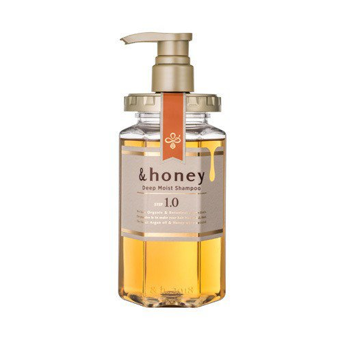 日本&honey蜂蜜亮澤修護洗髮乳1.0,售價550元。圖/Tomod's提供