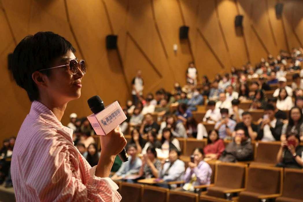 桂綸鎂首度以監製身分在觀眾面前發表新片。圖/高雄電影節提供