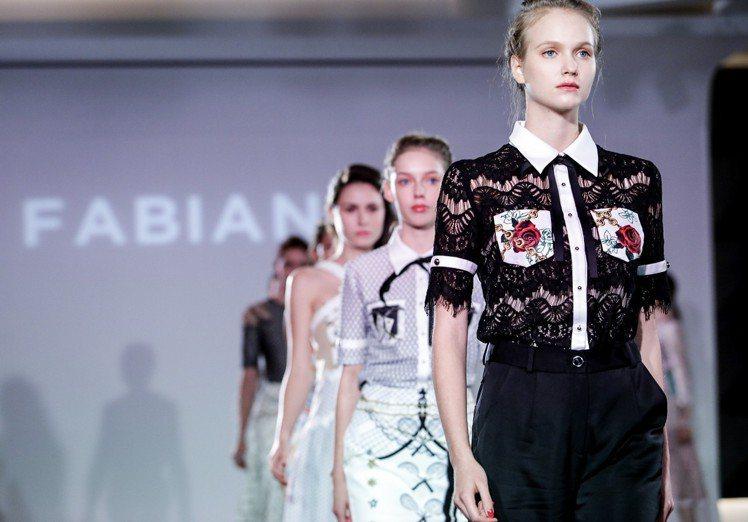 FABIANA C在上海發表2019春夏系列。圖/FABIANA C提供