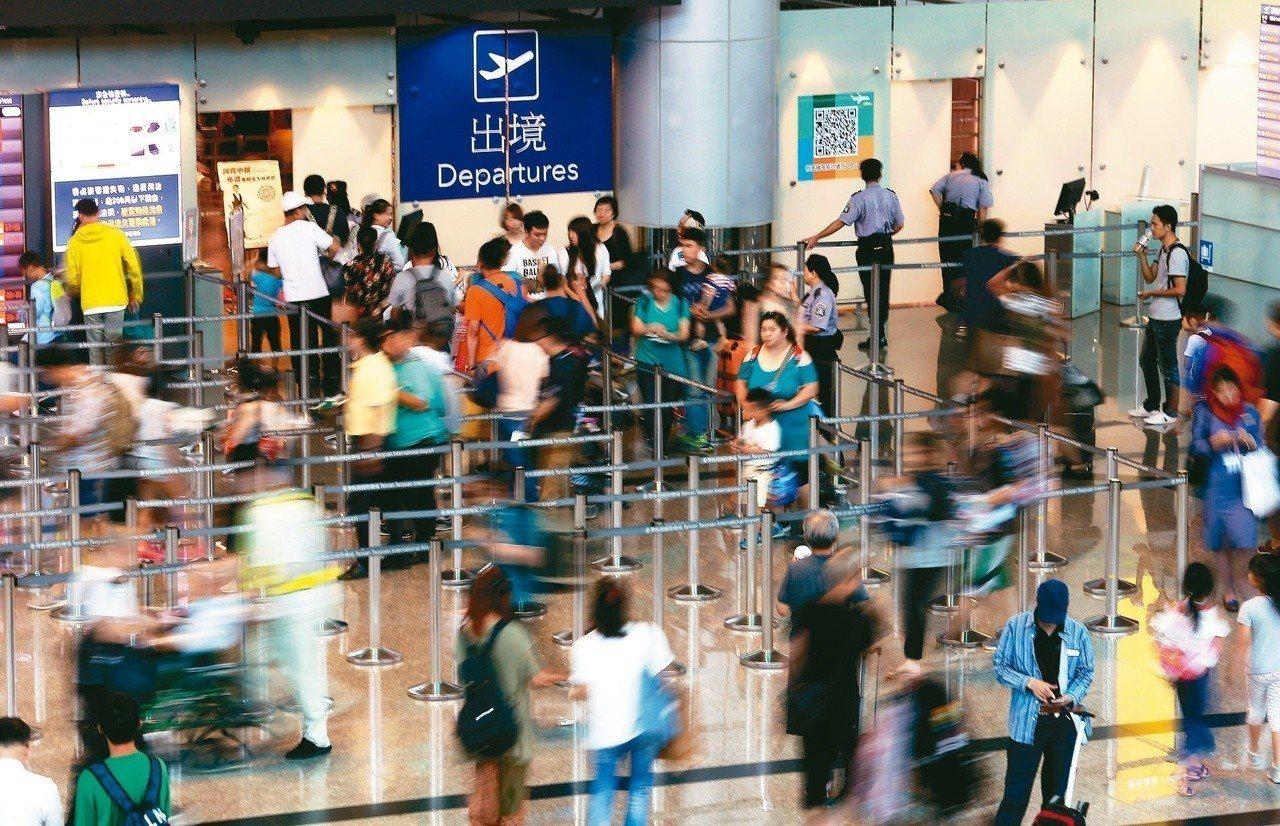 出國想要盡情購物,宜先確認信用卡的額度是否足夠。 圖/聯合報系資料照片