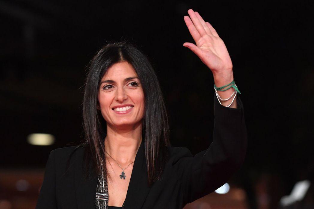 羅馬首位女市長拉吉。 (法新社)