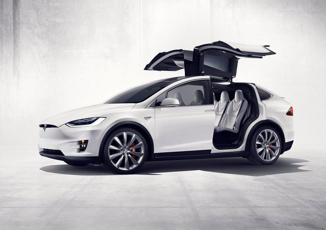 Model Y可能會有和Model X一樣的鷗翼車門。 摘自Tesla