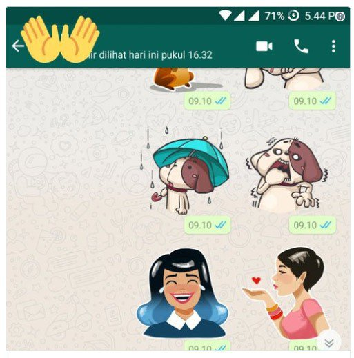 Creating stickers for WhatsApp