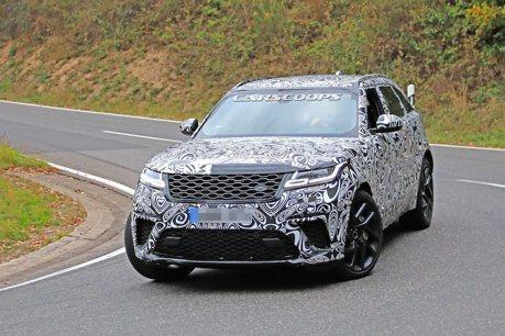 最兇狠的Range Rover Velar來了! 550匹馬力的的SVR版本測試中
